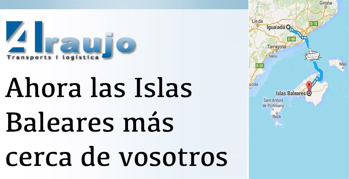 Ahora las islas baleares m s cerca de vosotros araujo - Transporte islas baleares ...
